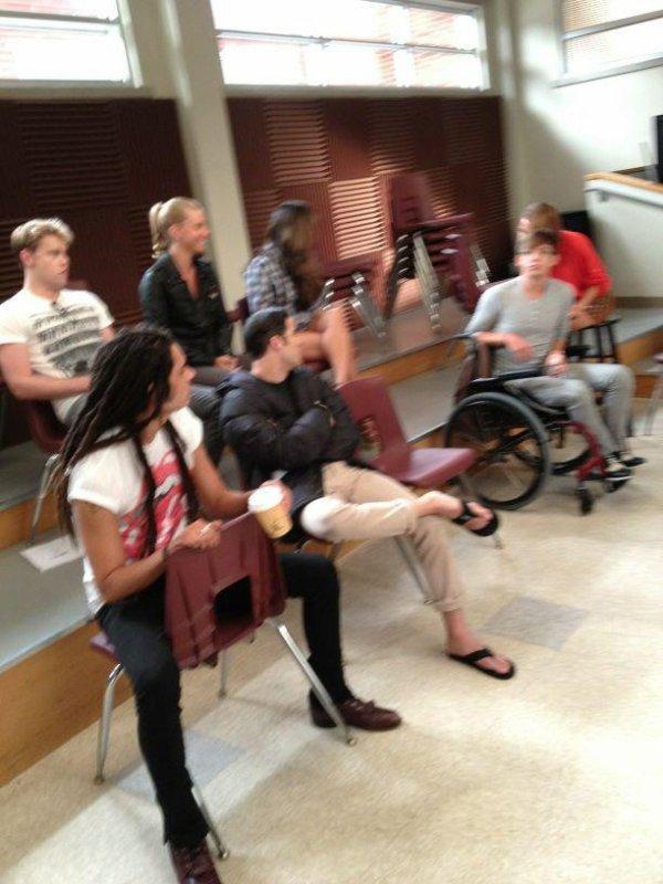 Glee set de la saison 4 !