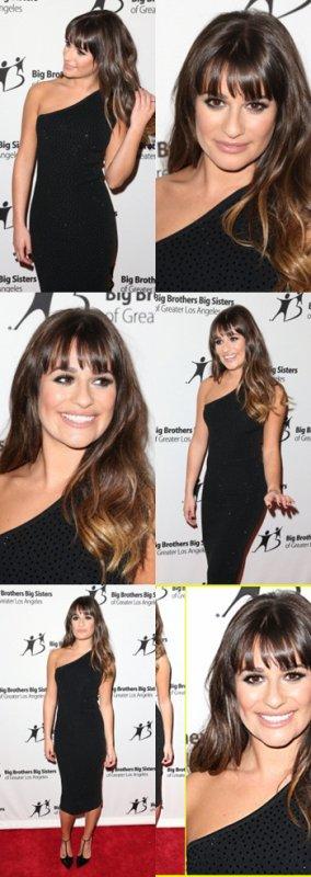 "Darren Criss, Amber Riley et Lea Michele hier au Gala ""Big Brothers Big Sisters"""
