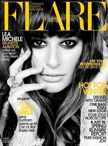 Lea pour Flare Magazine