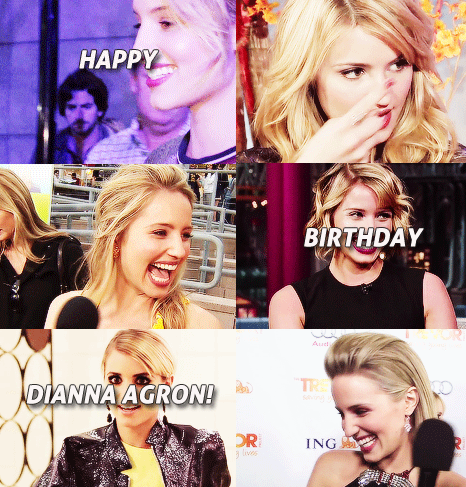 Happy birthday Dianna !