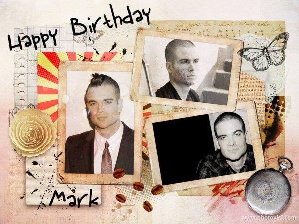 Happy Birthday Mark !