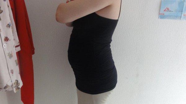mon ventre a 4 mois de grossesse