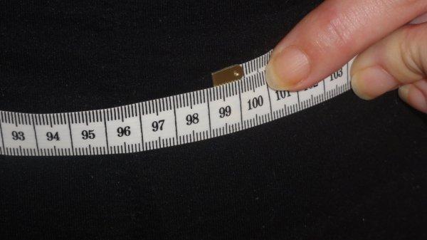 mon tour de ventre 99 cm !!