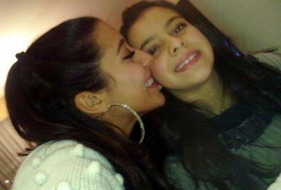 Voila moi ak ma tite soeur que j'adore