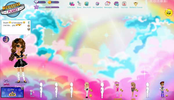 how to get cool backgrounds on msp
