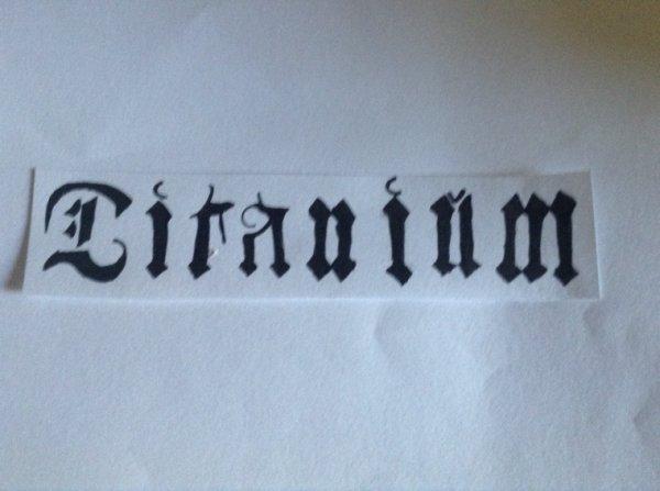 Ma page de couverture pour Titanium