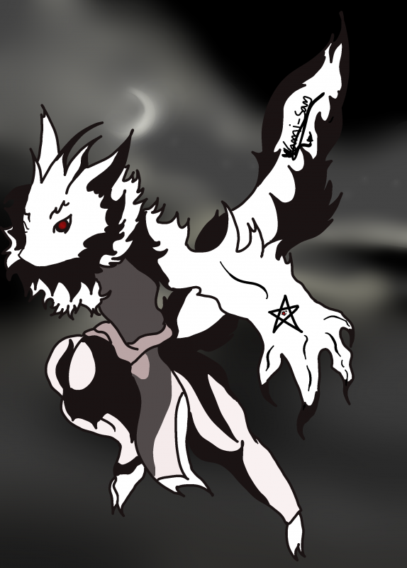 Dessin démon style zoroark
