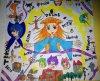 Challenge: remplir une feuille de dessin en utilisant tous ses feutres