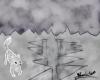 Paysage artique et esprit de renard