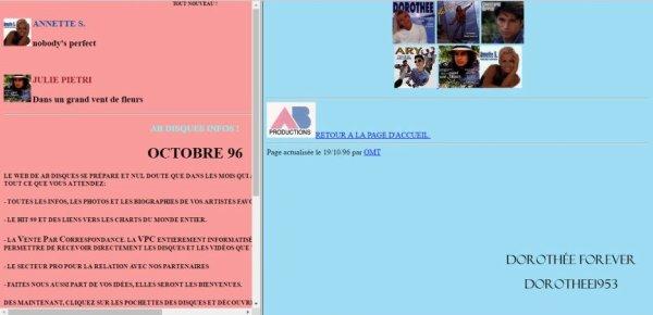 Site internet AB PRODICTION  -AB Disques