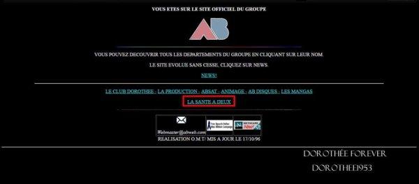 Site internet AB PRODICTION  -La Santé à Deux