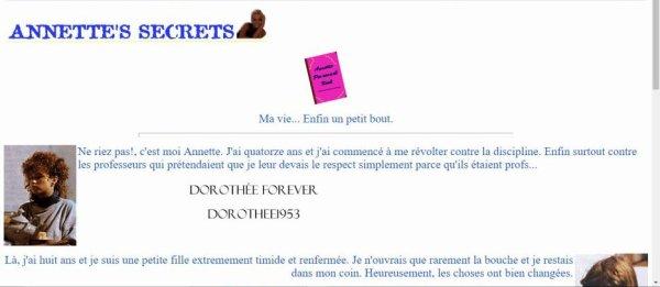 Site internet AB PRODICTION  -News / Annette Schreiber