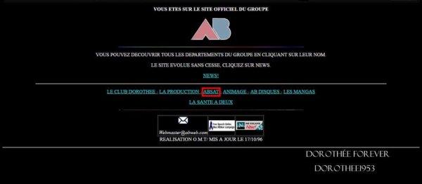 Site internet AB PRODICTION  -AB SAT