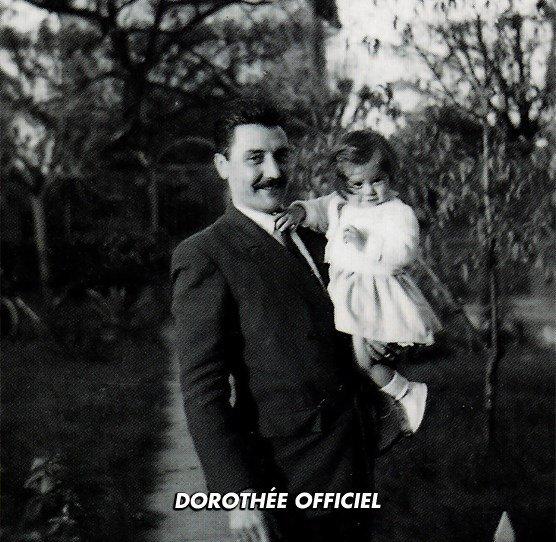 Dorothée et son papa ♥
