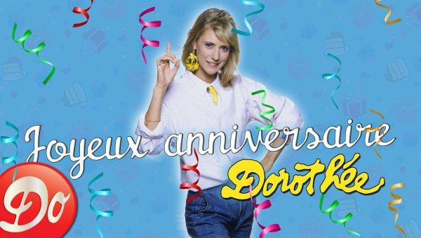 Génération Club Do - Nous souhaitons un joyeux anniversaire à Dorothée ♥♥♥