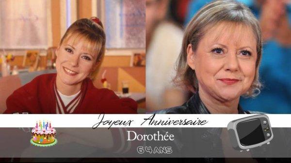 Générations 60708090 - Aujourd'hui en ce #14juillet nous souhaitons un joyeux anniversaire à Dorothée 🎂 #dorothee