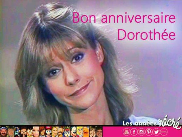 """Les années récré - Pour l'anniversaire de Dorothée, je vous offre ce très joli moment inédit. La belle reprend """"Candy s'endort"""".  Très bon anniversaire Dorothée Officiel"""