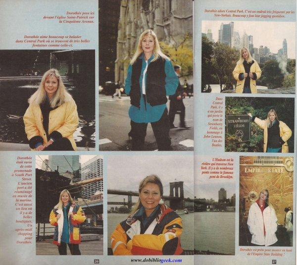 """Dobibliogeek - Un joyeux anniversaire à Dorothée Officiel ! <3  Pour cette occasion Dobibliogeek vous propose ce """"Dorothée Magazine"""" du 19 novembre 1996, dans lequel Dorothée nous fait visiter les plus célèbres endroits de New York."""