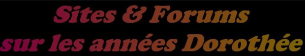ADRESSE WEB  SITE & FORUM