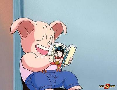 le cochon dans dragon ball