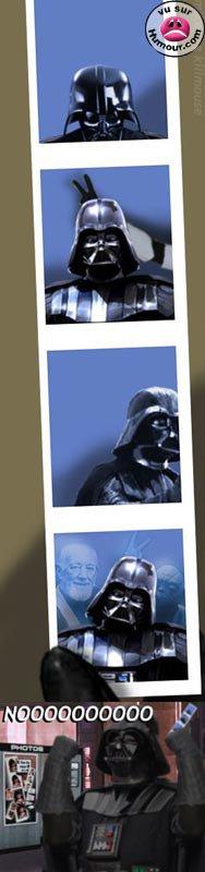 voici en exclu des photo perso de dark vador