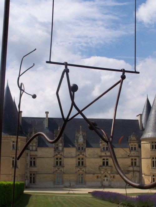 Exposition au CHATEAU DE LA ROCHE ( Magné 86160)