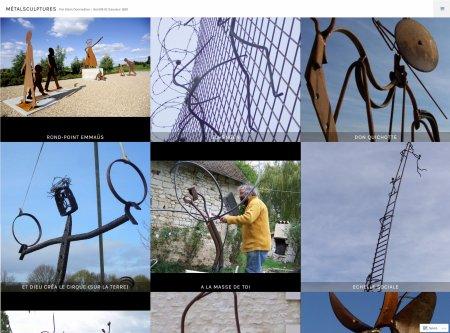 MétalSculptures NOUVEAU SITE