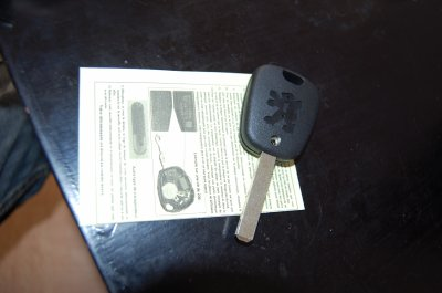 reparation de clé de peugeot et pot