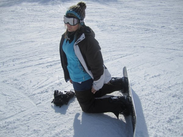 I'M A SNOWBOARDEUSE !