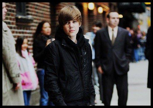 Bieber   (i'm not a groupie --')