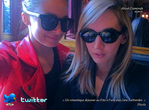 .MARCH 6TH, 2011 - NICOLE IN PARIS THEN TAKE A BREAKFAST WITH TEEN VOGUE EDITOR .