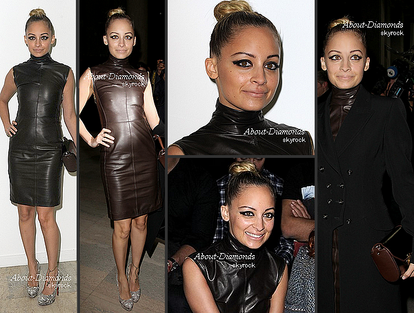 .MARCH 6TH, 2011 - NICOLE ATTENDING GIVENCHY SHOW .
