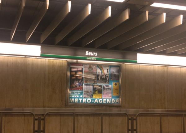 A Bruxelles, chaque communauté à sa station de Métro !