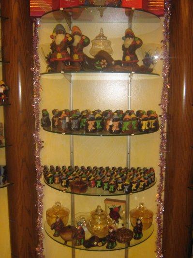 Sujet de Noël en chocolat