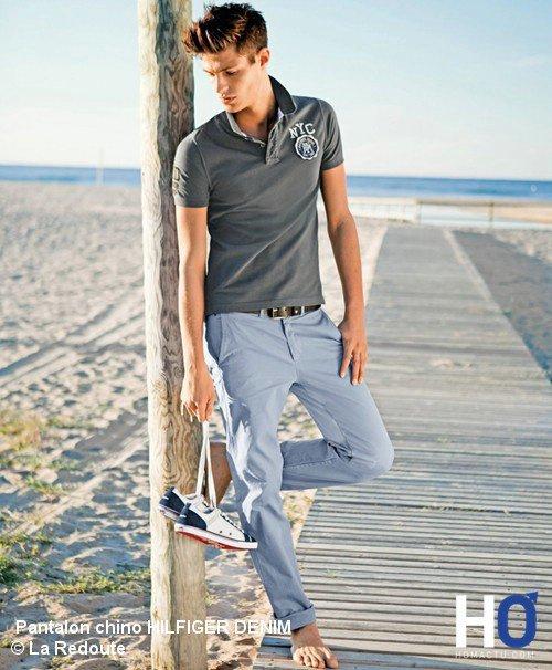 l'interview de Sebastien Michaut le designer de style univers mode ( Le pantalon coton façon chino )