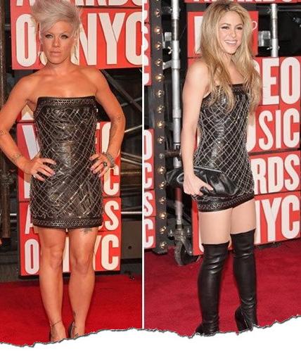 Même look : Pink / Shakira