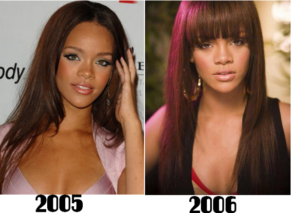 L'evolution de Rihanna