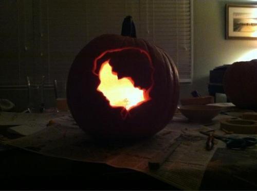 Vachement stylé ! Vous savez ce qu'il vous reste à faire pour Halloween !