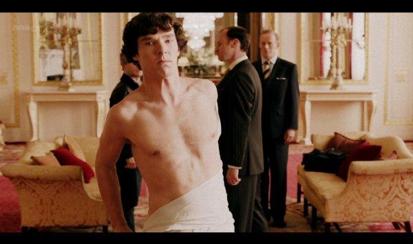 Pourquoi Sherlock n'a t-il pas mis sa menace d'avancer à execution ? :'(
