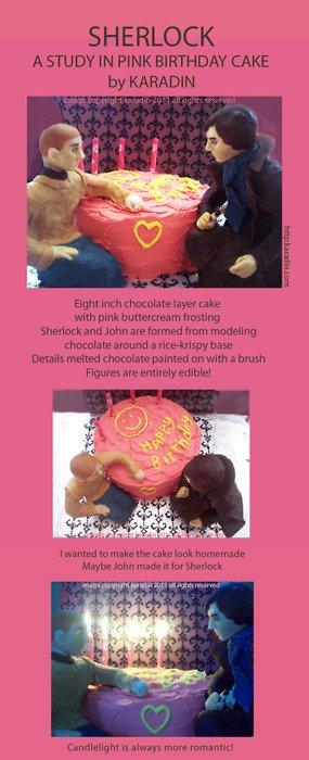Ooooh ! Je VEUX le même gâteau pour mon annif !