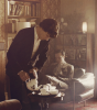 Il sait servir le thé ? XD