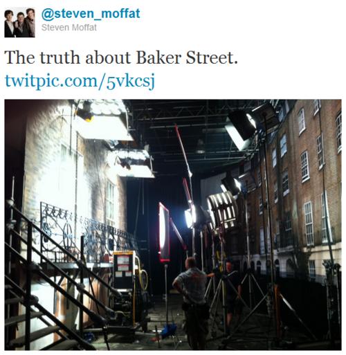 La vérité sur Baker street...