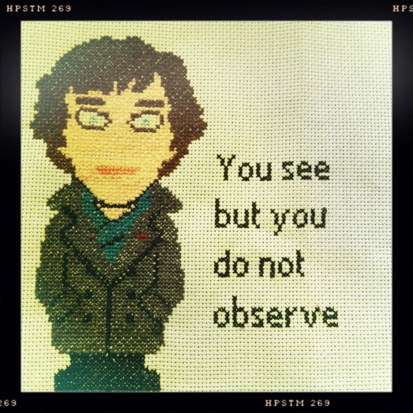 You see but you do not observe