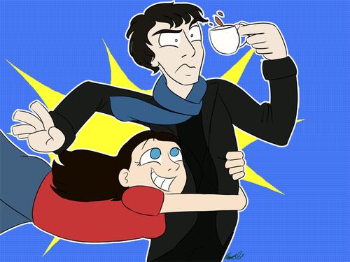 Sherlock & Molly, le couple rêvé ! ...(seulement par Molly !)