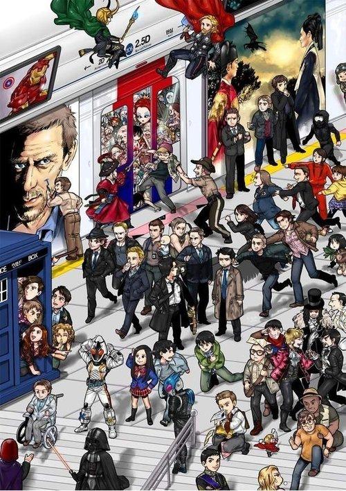Vous avez trouvé John & Sherlock ?