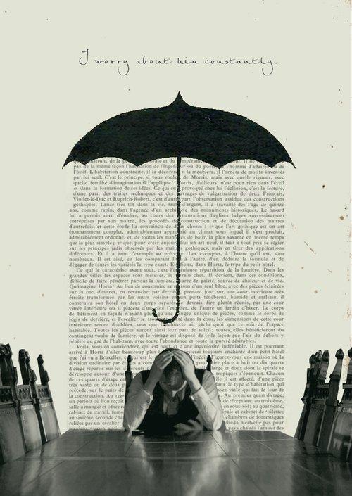 pauvre mr parapluie...