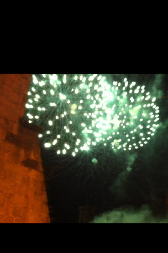 Feu d artifice à Foix