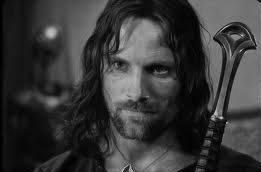 Viggo Mortensen juste en Aragorn