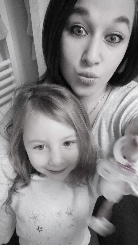 Avoir une nièce c'est un grand moment de joie, de bonheur! ❦