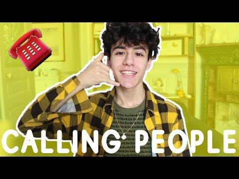 CALLING PEOPLE